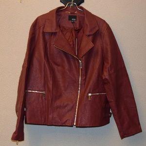 NWT Ana Faux Leather Jacket